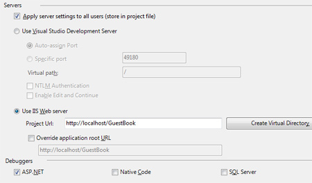VS 2008 Project Settings